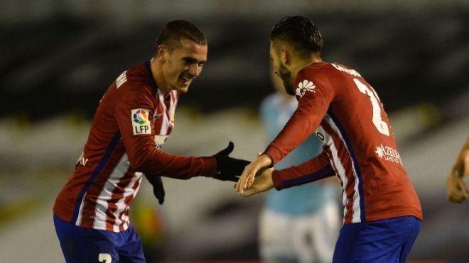 Griezmann and Carrasco
